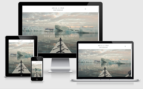 Amelia Le Brun Photography website